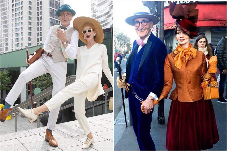 An Elderly Couple From Germany Who Will Give A Head Start To The Young In Fashion