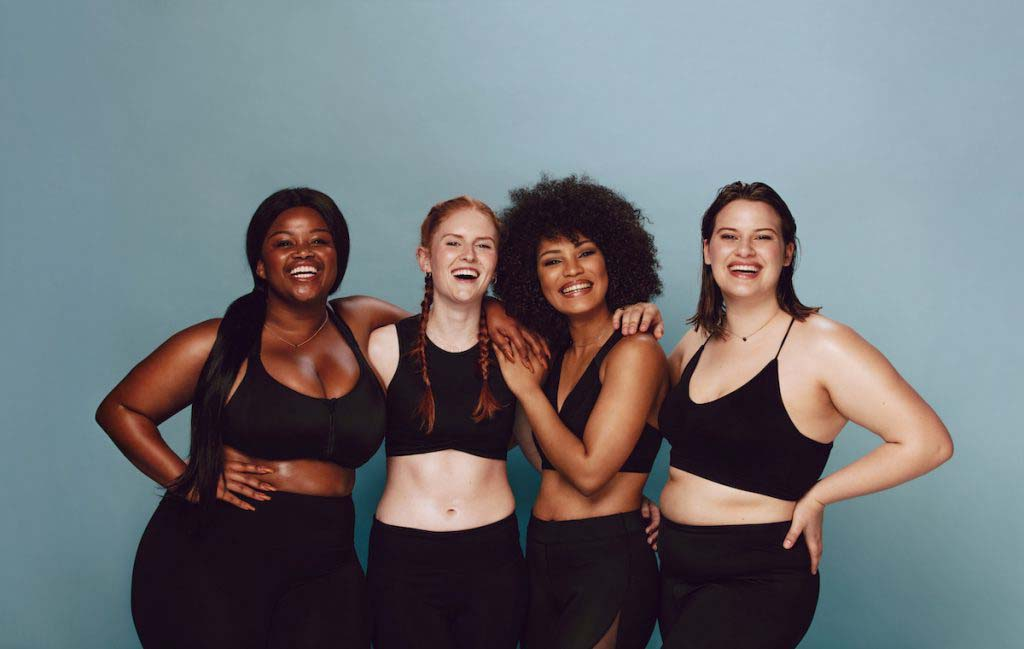 Why Body-Positive Women Are Happy & Health