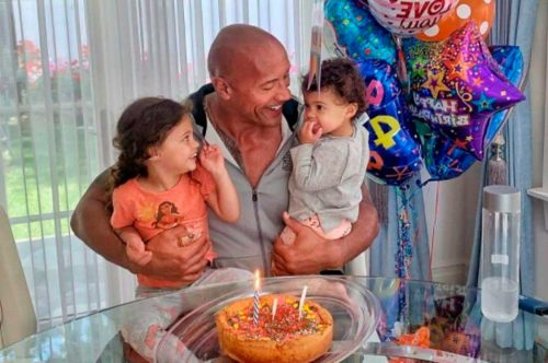 Moments That Demonstrate Dwayne Johnson is a Wonderful Father